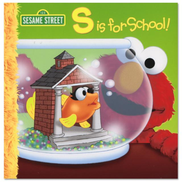 Sesame Street S Is For School Book