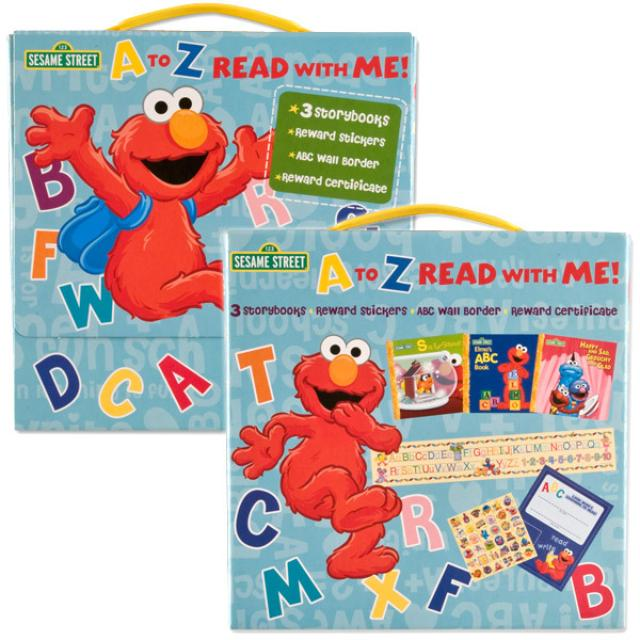 Sesame Street A To Z Read With Me Book Set