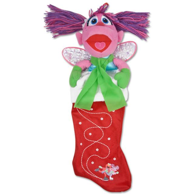 Sesame Street Abby Cadabby Ice Skating Stocking