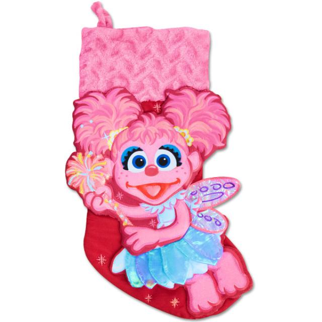 Sesame Street Abby Cadabby Applique Stocking