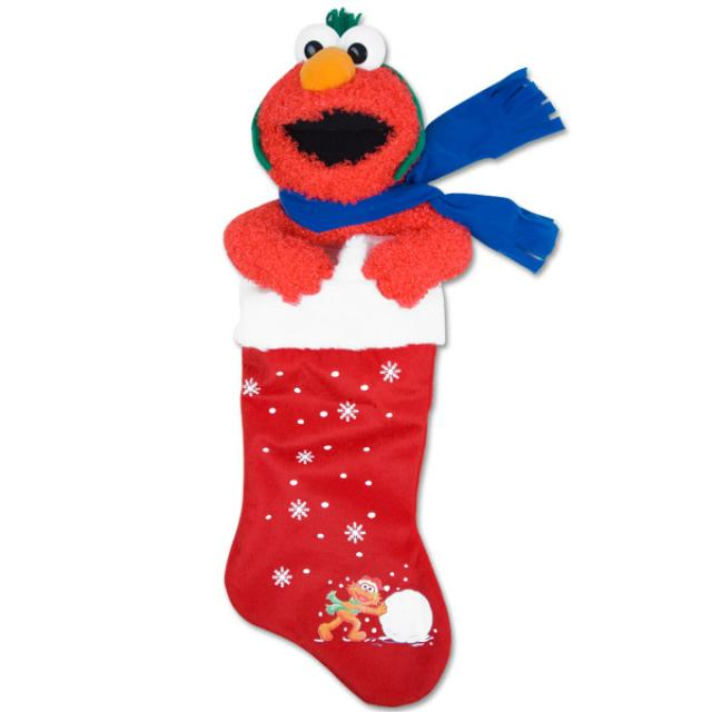 Sesame Street Elmo Plush Stocking