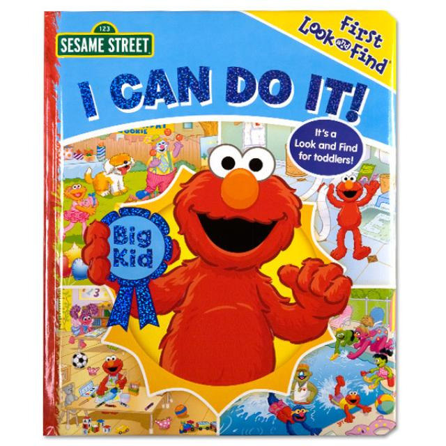 Sesame Street I Can Do It! Book