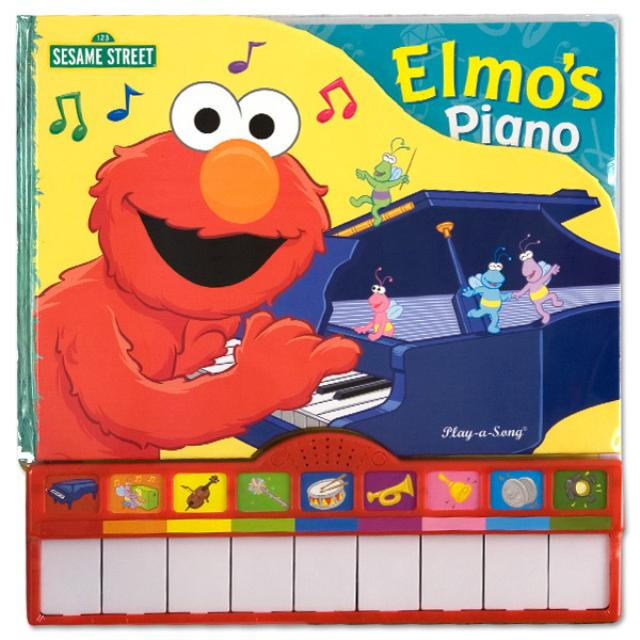 Sesame Street Elmo's Piano Book