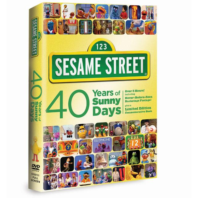 Sesame Street: 40 Years of Sunny Days DVD