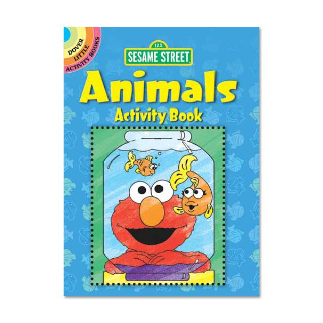 Sesame Street Animals Activity Book
