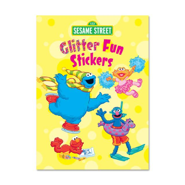 Sesame Street Glitter Fun Sticker Book