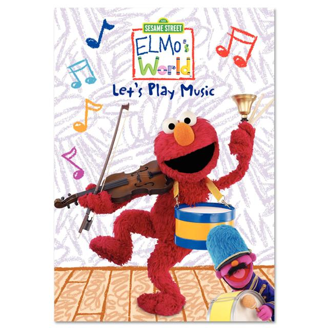 Sesame Street Elmo's World: Let's Play Music DVD