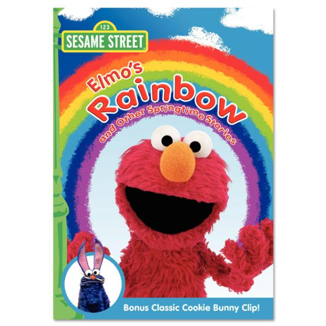 Sesame Street Elmo's Rainbow & Other Springtime Stories DVD