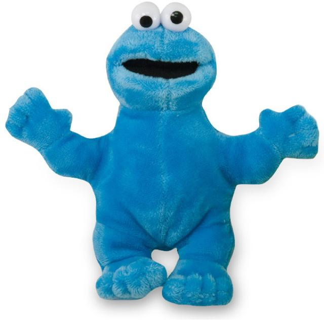 Sesame Street Cookie Monster Beanbag Plush