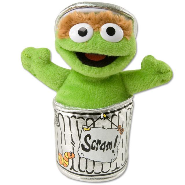 Sesame Street Oscar the Grouch Beanbag Plush