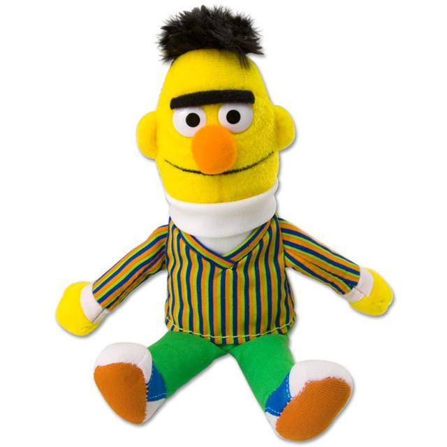 Sesame Street Bert Beanbag Plush