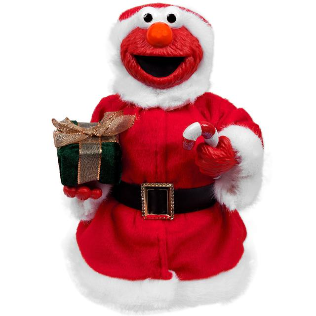 Sesame Street Elmo Santa Tablepiece