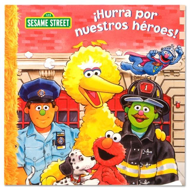 Sesame Street Hurra Por Nuestros Heroes! Book