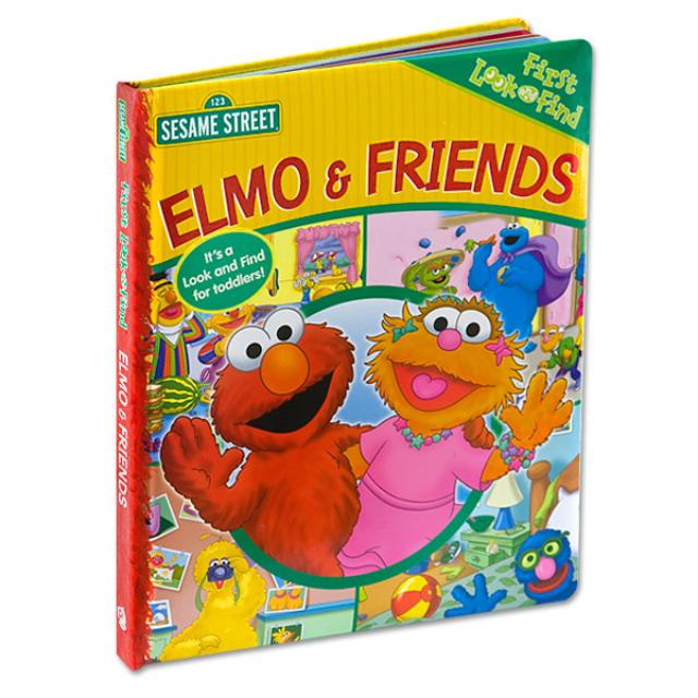 Sesame Street Elmo & Friends Look and Find Book