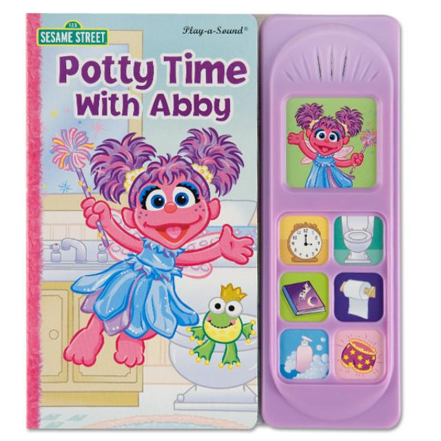 Sesame Street Potty Time With Abby Book