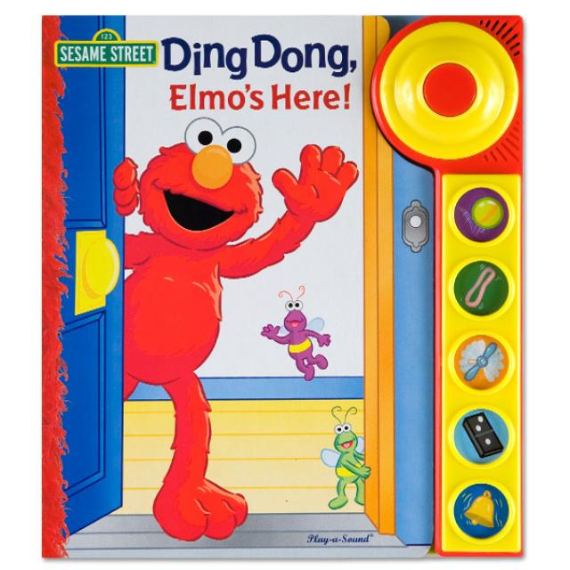 Sesame Street Ding Dong, Elmo's Here! Book