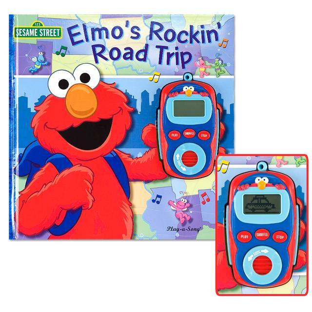 Sesame Street Elmo's Rockin' Road Trip Book
