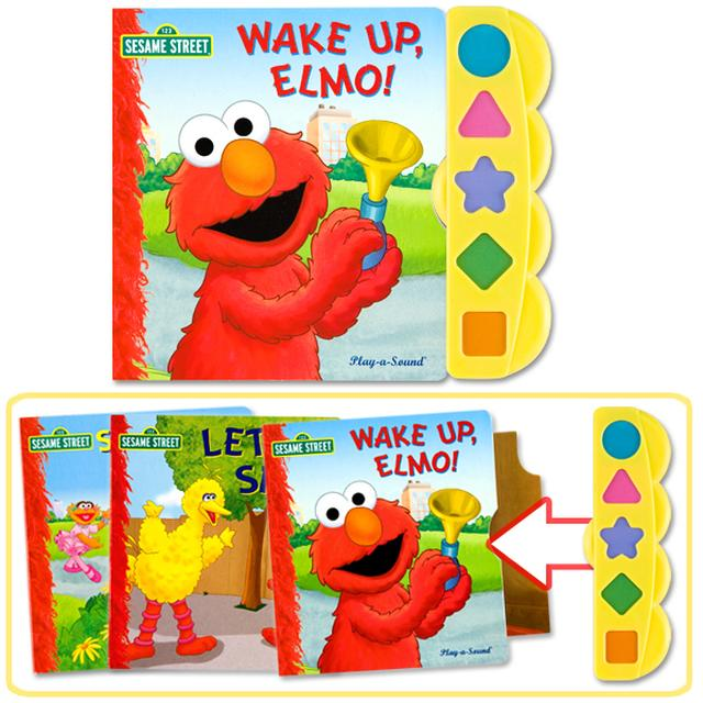 Sesame Street Elmo's 3-Book Play-a-Sound Set