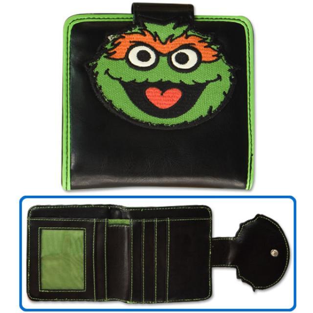 Sesame Street Oscar Ladies Wallet