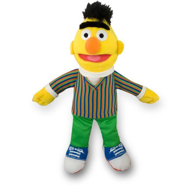 "Sesame Street Bert 14"" Plush"
