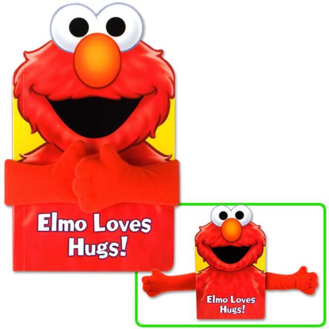 Sesame Street Elmo Loves Hugs! Book