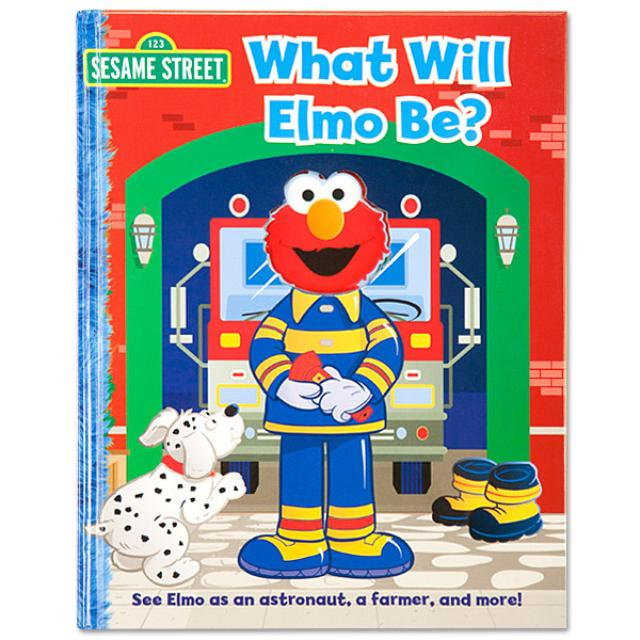 Sesame Street What Will Elmo Be? Book