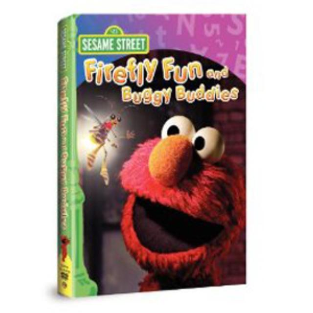Sesame Street Firefly Fun and Buggy Buddies DVD