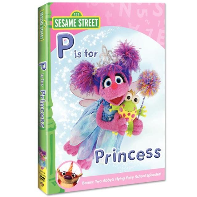 Sesame Street Abby & Friends: P is for Princess DVD