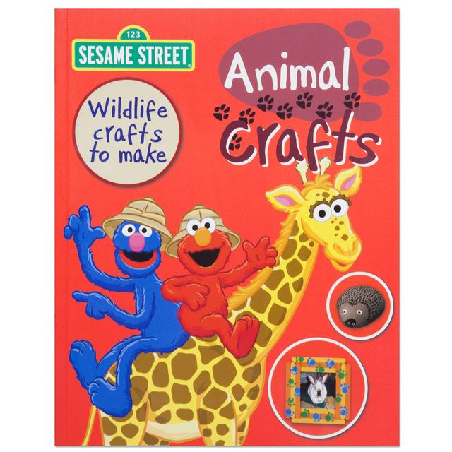 Sesame Street Animal Crafts Book