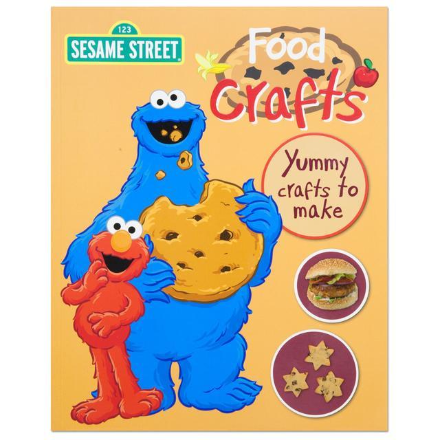 Sesame Street Food Crafts Book