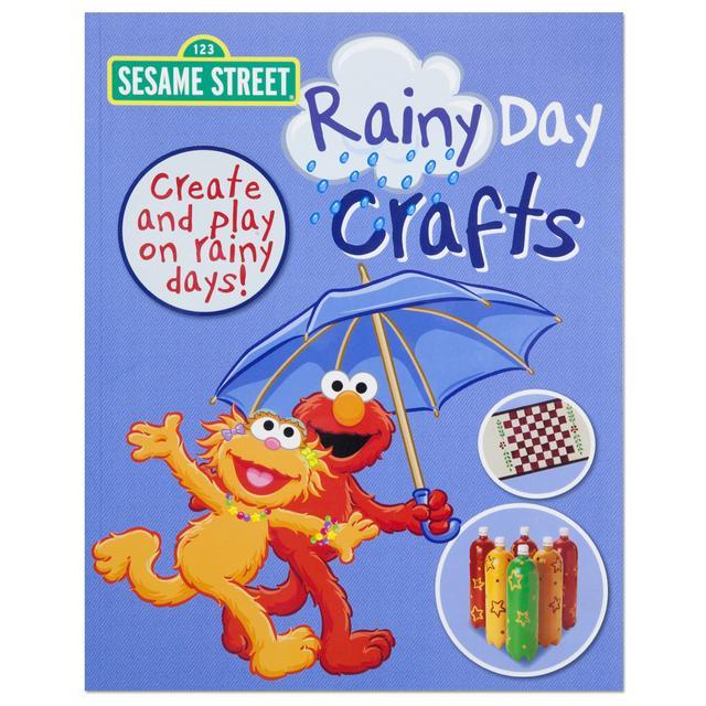 Sesame Street Rainy Day Crafts Book