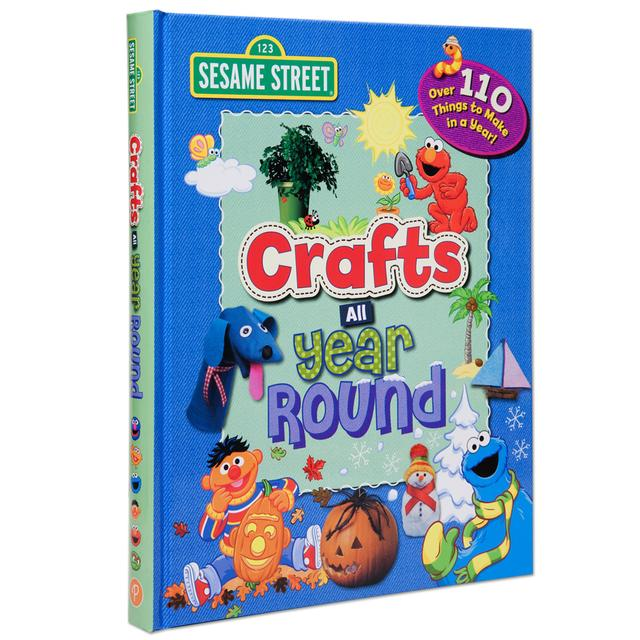Sesame Street Crafts All Year Round Book