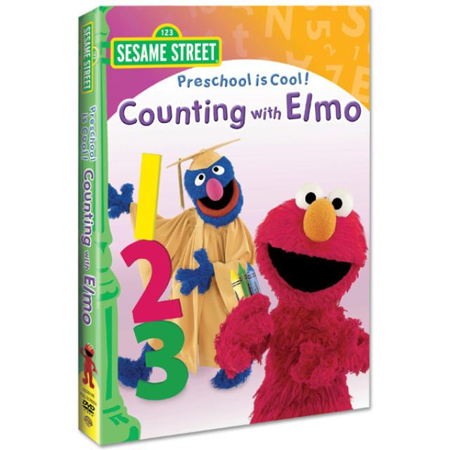 Sesame Street Preschool is Cool: Counting w/Elmo DVD