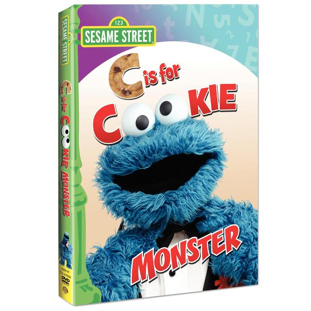 Sesame Street C Is For Cookie Monster DVD