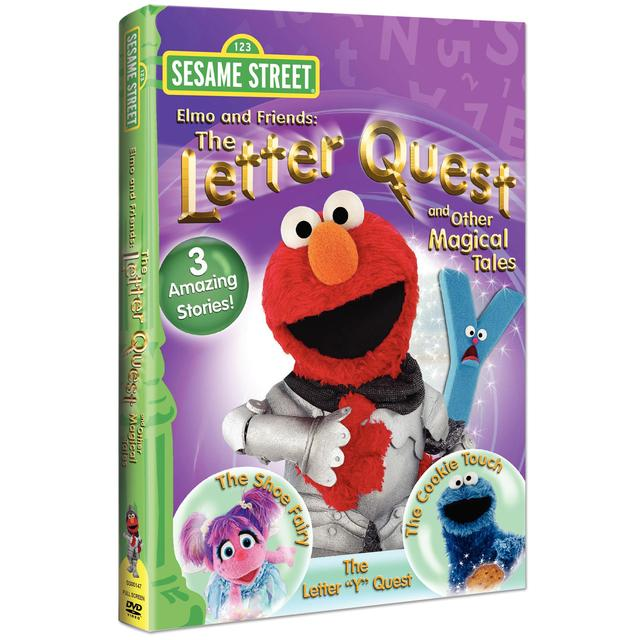 Sesame Street 'Elmo&Friends: The Letter Quest' DVD