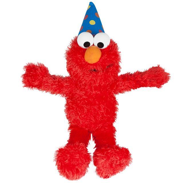 Sesame Street Elmo Talking Birthday Plush
