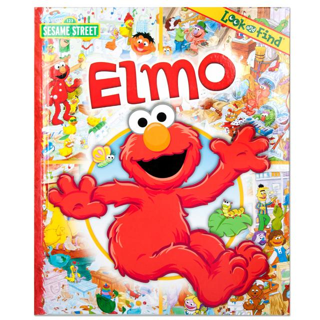 Sesame Street Elmo Look and Find Book
