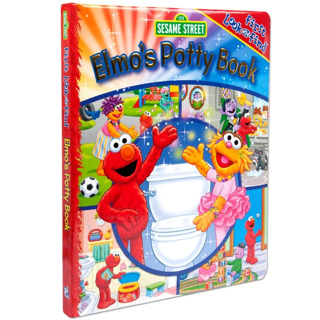 Sesame Street Elmo Look and Find Potty Book