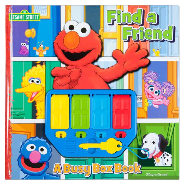 Sesame Street Elmo Find a Friend: A Busy Box Musical Book