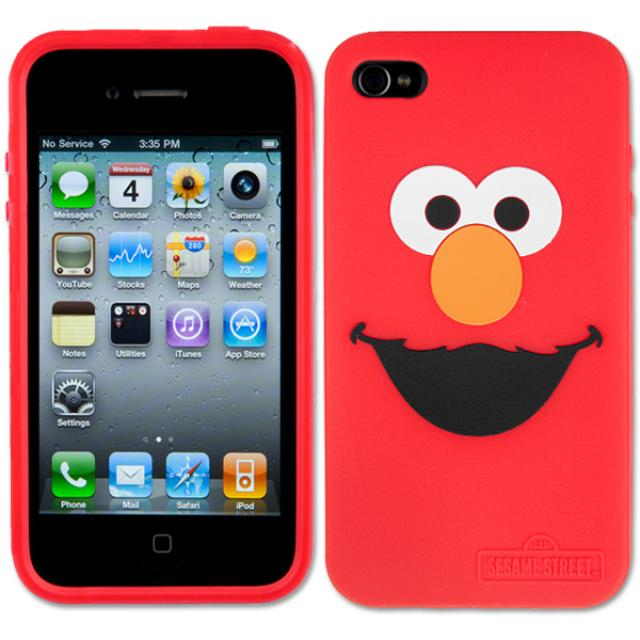 Sesame Street Elmo iPhone 4 Silicone Case