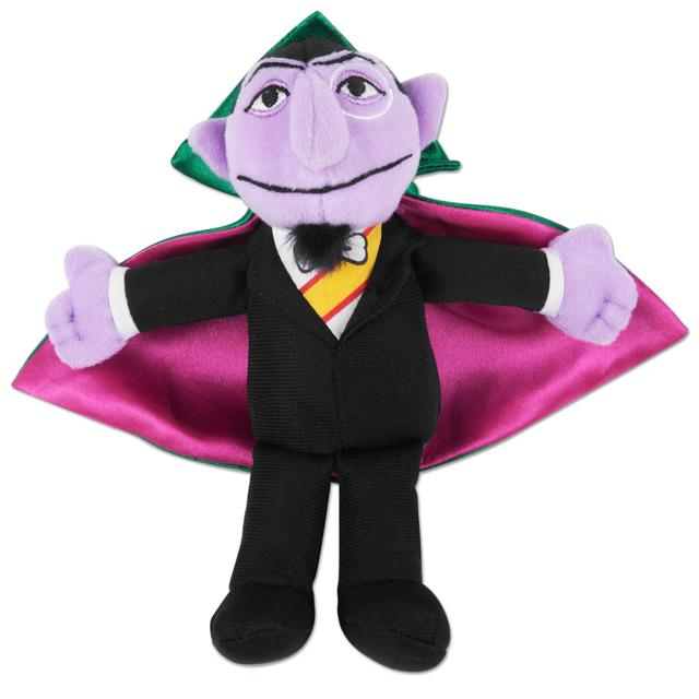 Sesame Street Count Von Count Beanbag Plush