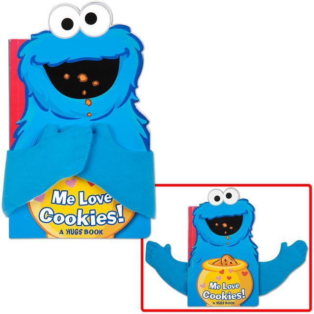 Sesame Street Cookie Monster Me Love Cookies Hugs Book