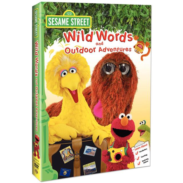 Sesame Street Wild Words & Outdoor Adventures DVD