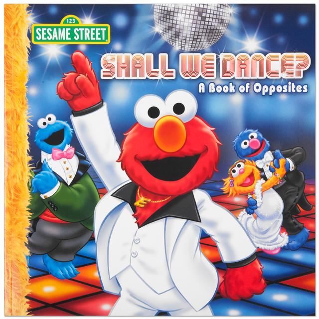 Sesame Street Elmo Shall We Dance Book