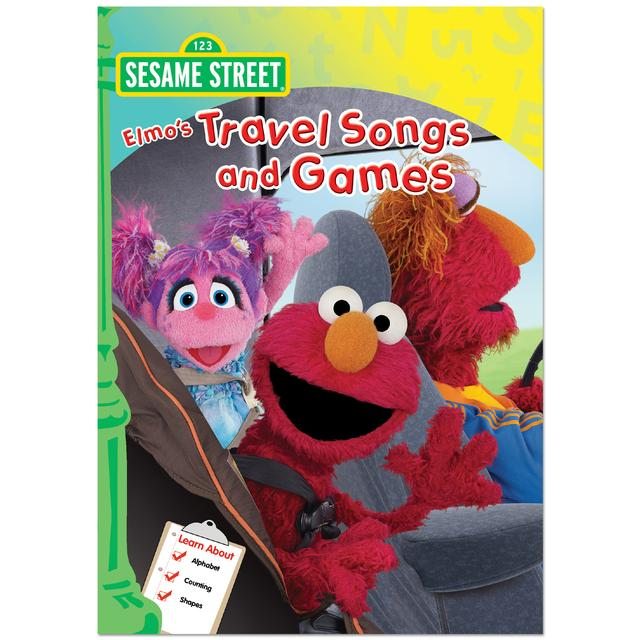 Sesame Street Elmo's Travel Songs & Games DVD
