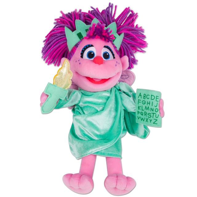 Sesame Street Abby Cadabby Statue of Liberty Plush