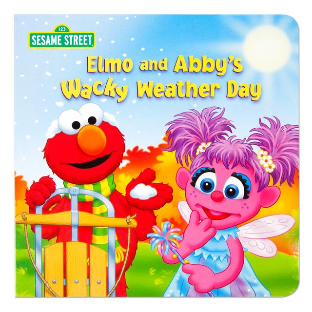 Sesame Street Elmo and Abby's Wacky Weather Day Book