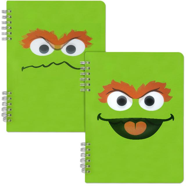Sesame Street Oscar the Grouch Spiral Notebook