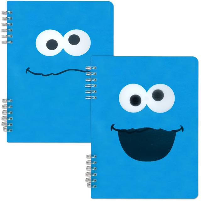 Sesame Street Cookie Monster Spiral Notebook