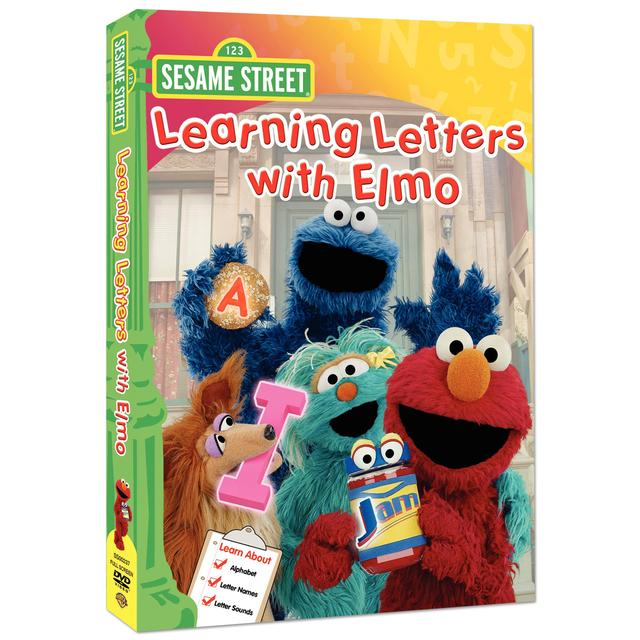 Sesame Street Learning Letters with Elmo DVD